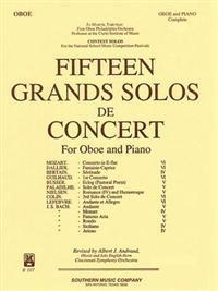 15 Grands Solos de Concert: Oboe