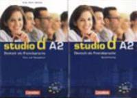 studio d - Grundstufe A2: Gesamtband - Kurs- und Übungsbuch mit Lerner-CD und Sprachtraining