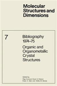 Bibliography 1974-75, Organic and Organometallic Crystal Structures