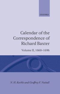 Calendar of the Correspondence of Richard Baxter