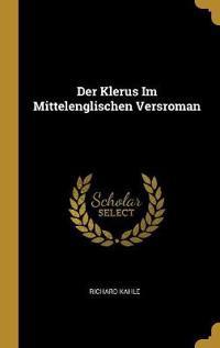 Der Klerus Im Mittelenglischen Versroman