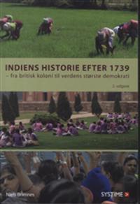 Indiens historie efter 1739