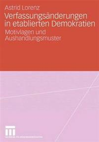 Verfassungs nderungen in Etablierten Demokratien