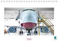 Jets: Über den Wolken (Tischkalender 2020 DIN A5 quer)