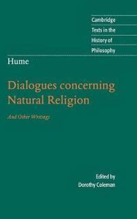 Dialogues Concerning Natural Religion, And Other Writings
