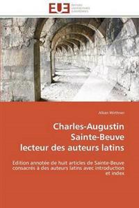Charles-Augustin Sainte-Beuve Lecteur Des Auteurs Latins