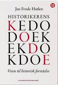 Historikerens kode - Jan Frode Hatlen   Inprintwriters.org