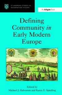 Defining Community in Early Modern Europe