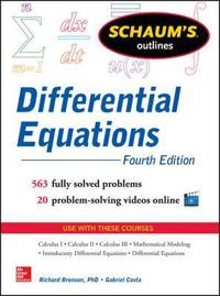 Schaum's Outlines Differential Equations