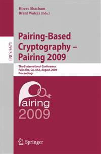 Pairing-Based Cryptography - Pairing 2009