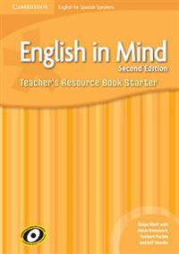 English in Mind for Spanish Speakers Starter Level Teacher's Resource Book + Audio Cds