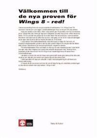 Wings 8 Red Ersättningsprov pdf