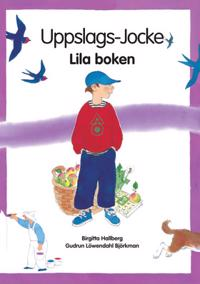 Uppslags-Jocke  Lila boken