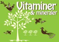 Hälsoserien : Vitaminer och mineraler