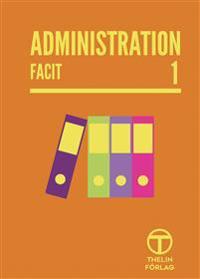 Administration 1 - Facit - Meg Marnon pdf epub