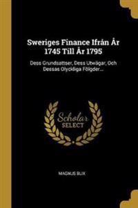 SWE-SWERIGES FINANCE IFRAN AR