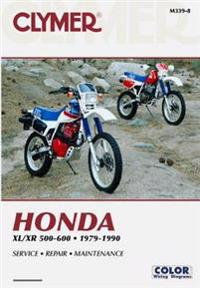 Honda XL/Xr 500-600 1979-1990 (Clymer Motorcycle Repair, Vendor Id M339-8)