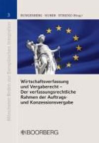 Wirtschaftsverfassung und Vergaberecht