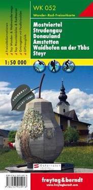 Mostviertel, Strudengau, Donauland, Amstetten GPS