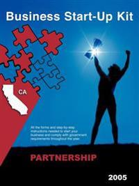 Business Start-Up Kit Partnership California 2005