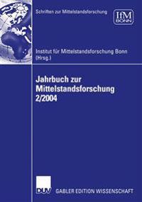 Jahrbuch Zur Mittelstandsforschung 2/2004