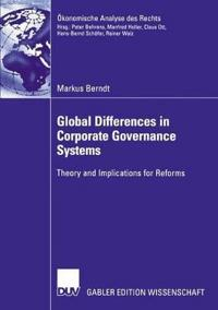 Global Differences in Corporate Governance Systems