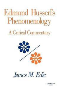 Edmund Husserl's Phenomenology