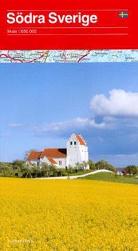 Södra Sverige Karta : 1:650000