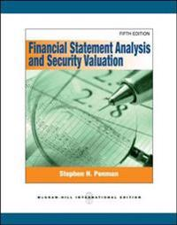 Financial statement analysis and security valuation (intl ed)