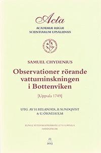 Observationer rörande vattuminskningen i Bottenviken
