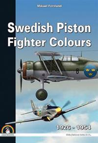 Swedish Piston Fighter Colours: 1925 - 1954