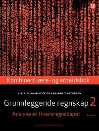 Grunnleggende regnskap 2 - Kjell Gunnar Hoff, Asbjørn O. Pedersen pdf epub