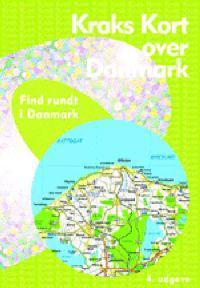 Kraks Kort Over Danmark 4 Krak Bocker Ovrigt 9788772257778