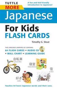 Tuttle More Japanese for Kids Flash Cards