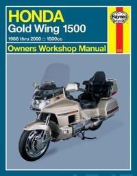 Honda Gl1500 Gold Wing Owners Workshop Manual: 1988-2000