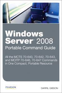 Windows Server 2008 Portable Command Guide