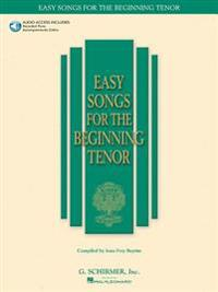 Easy Songs for the Beginning Tenor [With CD (Audio)]