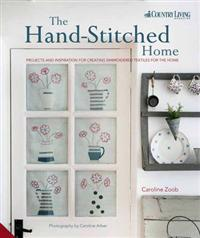 Hand-stitched home - projects and inspiration for creating embroidered text