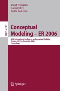 Conceptual Modeling - ER 2006