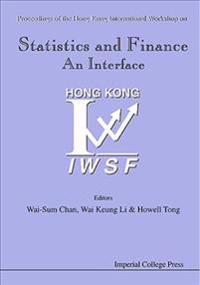 Statistics and Finance