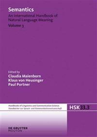 Semantics. Volume 3