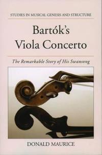 Bartok's Viola Concerto