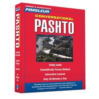 Pimsleur Pashto Conversational Course - Level 1 Lessons 1-16 CD: Learn to Speak and Understand Pashto with Pimsleur Language Programs