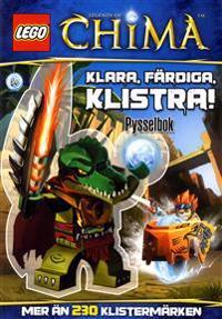 Lego legens of Chima - Klara, färdiga, klistra!