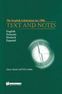 The English Arbitration Act 1996