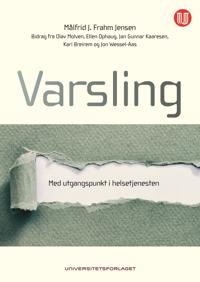 Varsling - Målfrid J. Frahm Jensen | Inprintwriters.org