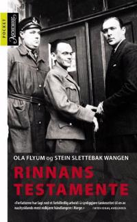 Rinnans testamente - Ola Flyum, Stein Slettebak Wangen pdf epub