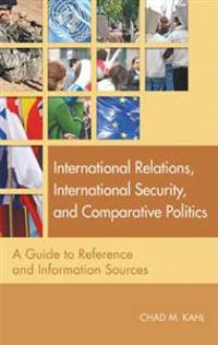 International Relations, International Security, and Comparative Politics