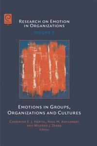 Emotions in Groups, Organizations and Cultures