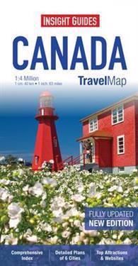 Insight Travel Map: Canada